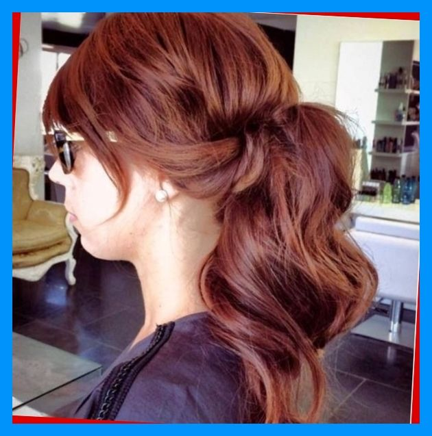 Natural Red Hair With Brown Highlights