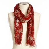 A scarf is the perfect accessory for spring/summer!