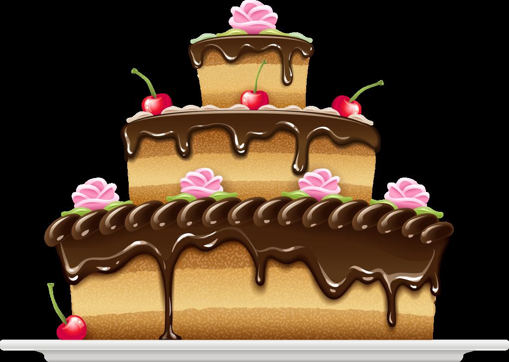 Картинка для детей торт на прозрачном фоне