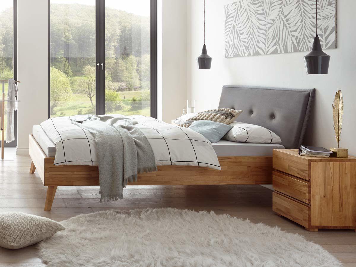 Hasena Wood Line Designbett Tussaro Haus Deko Bett Massivholzbett
