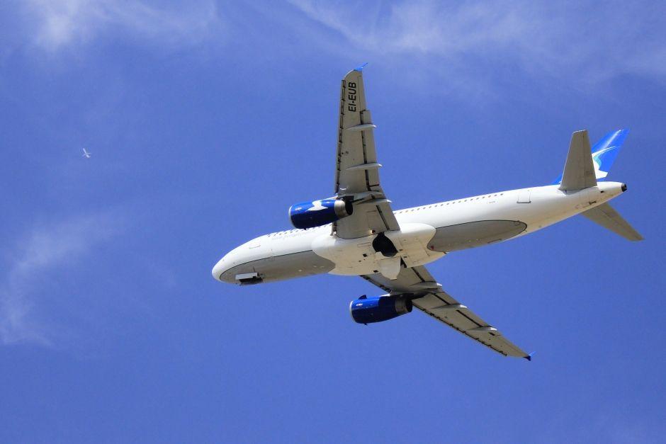 A photo of a Livingstonair A320-232 airplane in Bologna, Itlay (BLQ / LIPE). The aircraft registration is EI-EUB