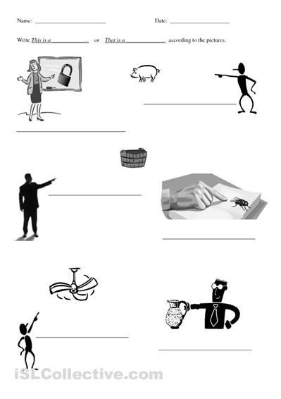 grammar this these that those exercises | grammar | Pinterest