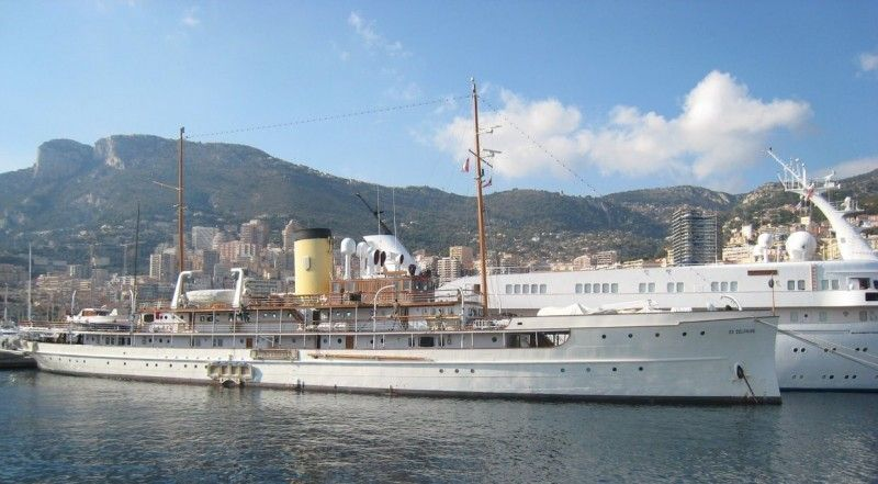 Historic Steam-Powered SS Delphine Super-Yacht Hits Market for $22M