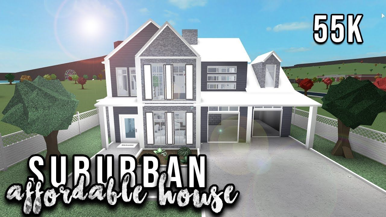 Cute Saburben Houses Bloxburg Google Search House Blueprints