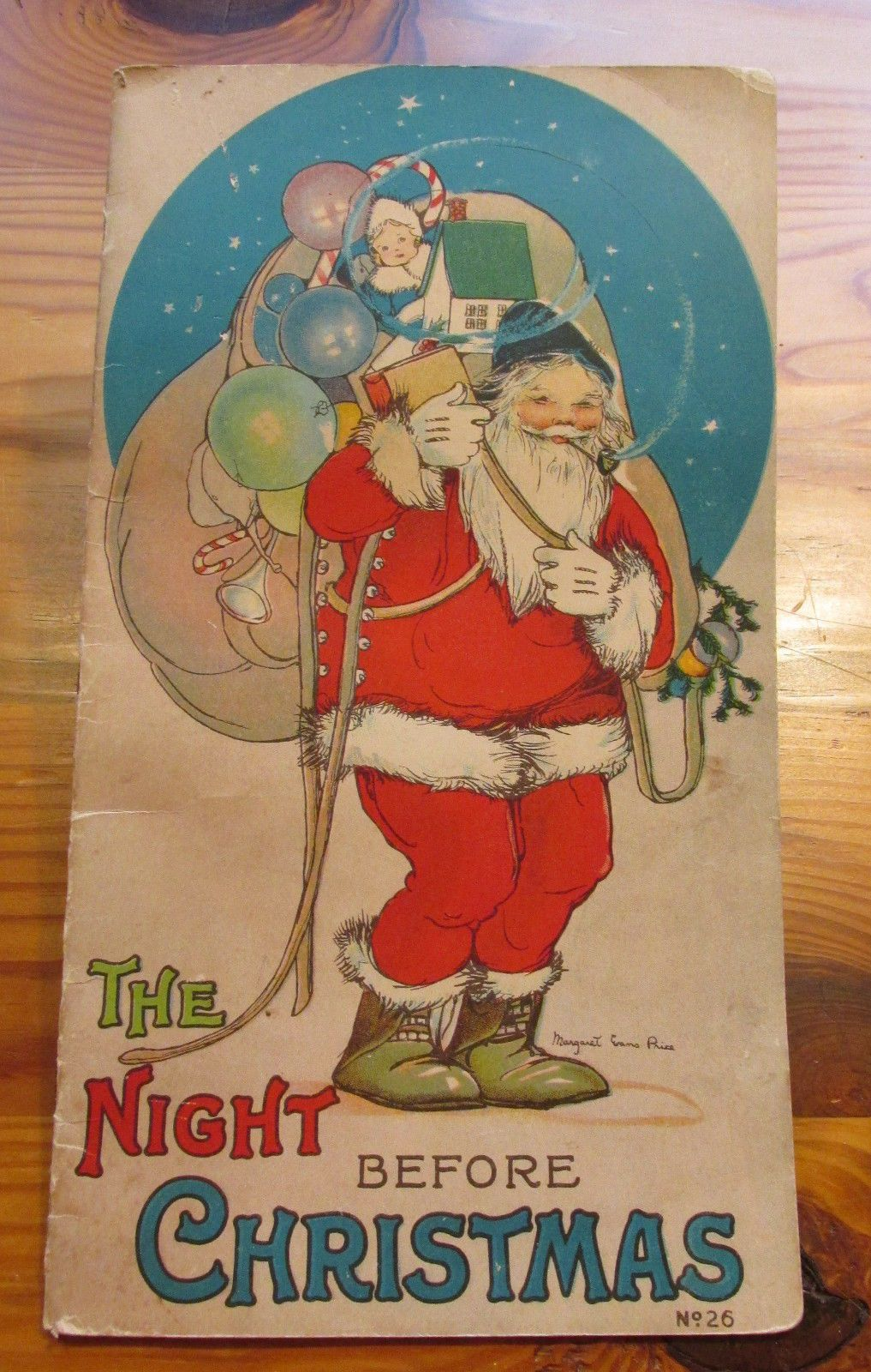 1917 the night before christmas childrens book illustrated