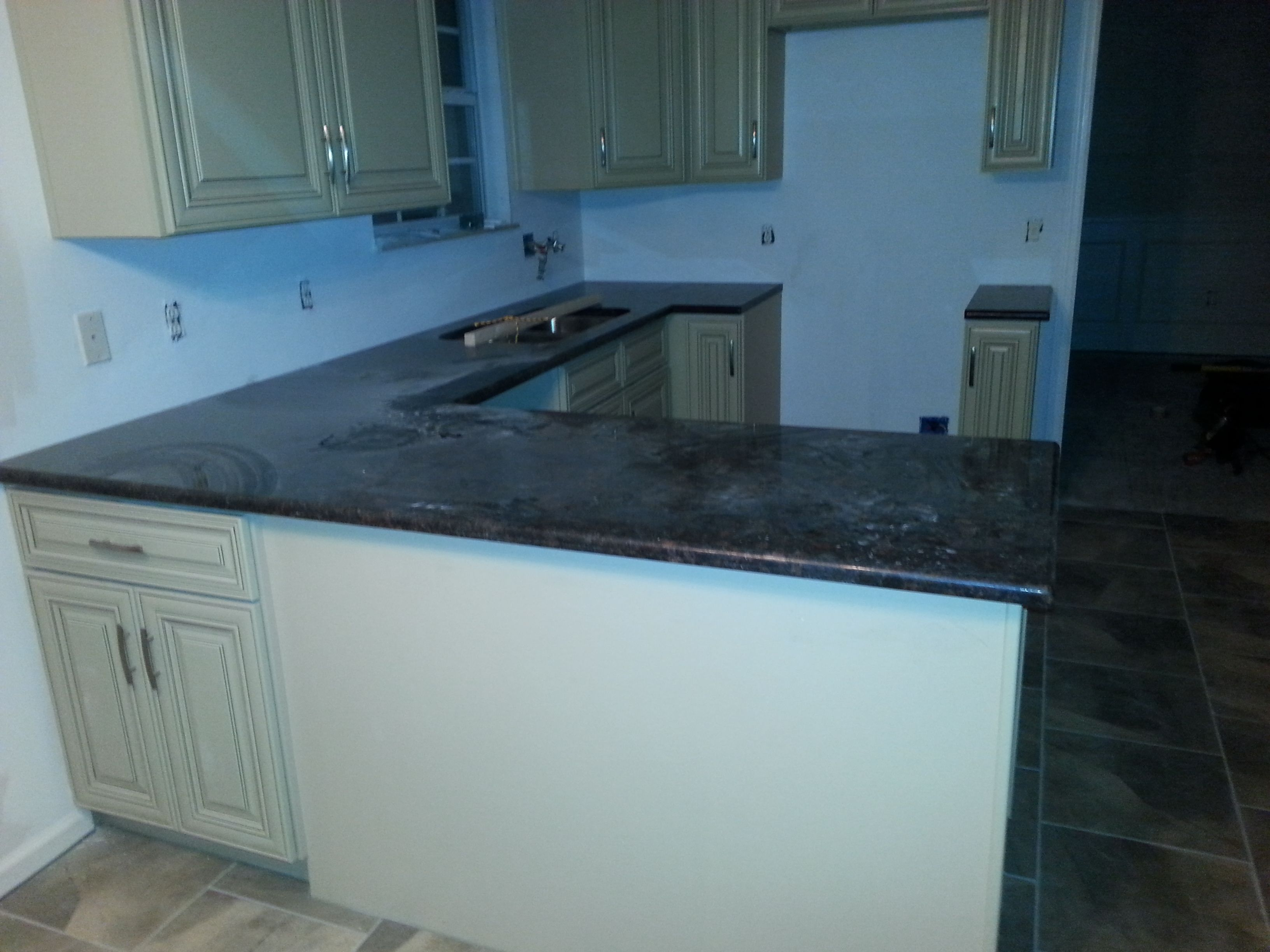 Tan Brown granite kitchen install for the O\'Rourke family ...