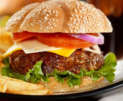 Grilled Cajun Cheeseburgers Recipe on Big Y