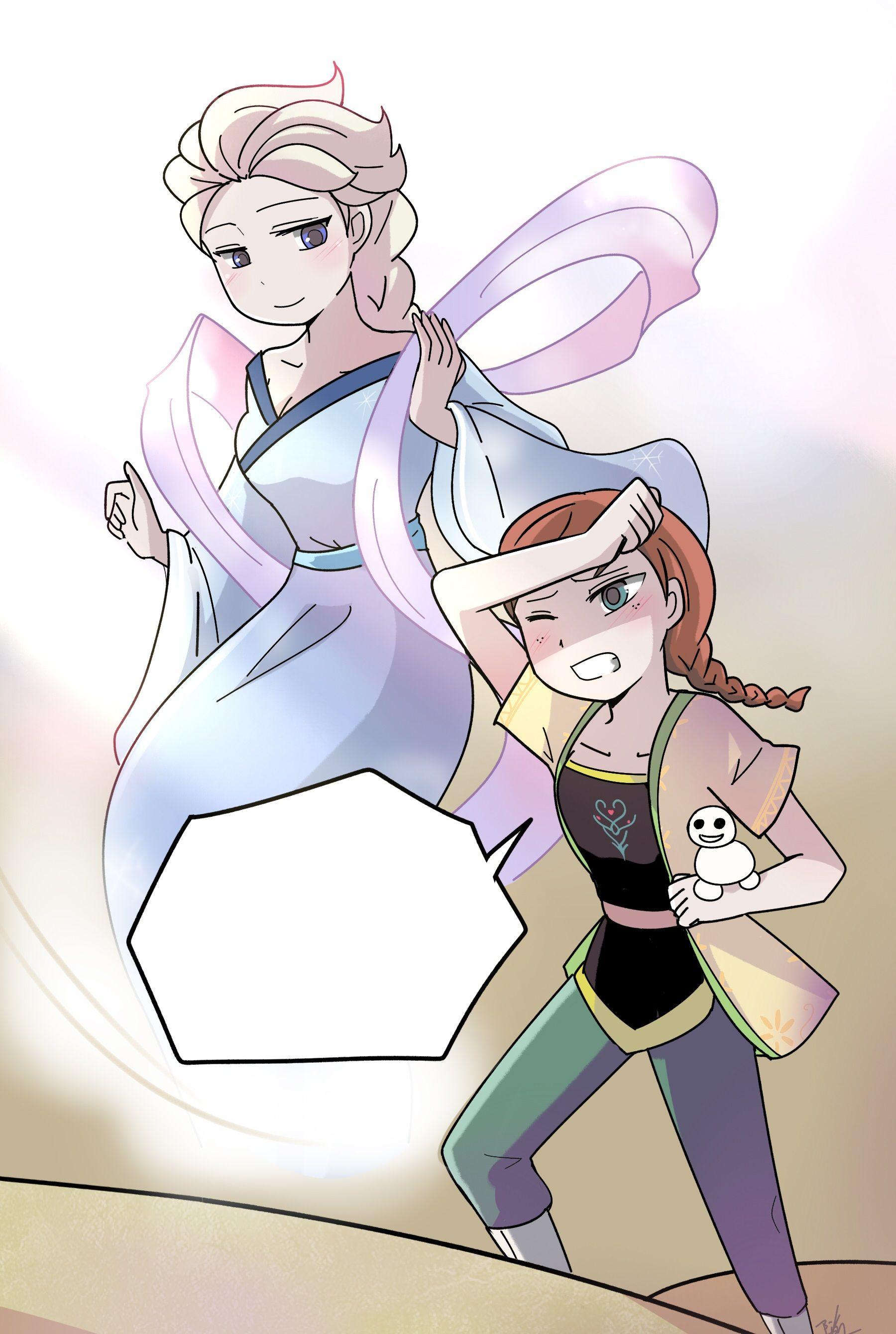 Pin by Frozenfan on Frozen drawings Anime, Frozen