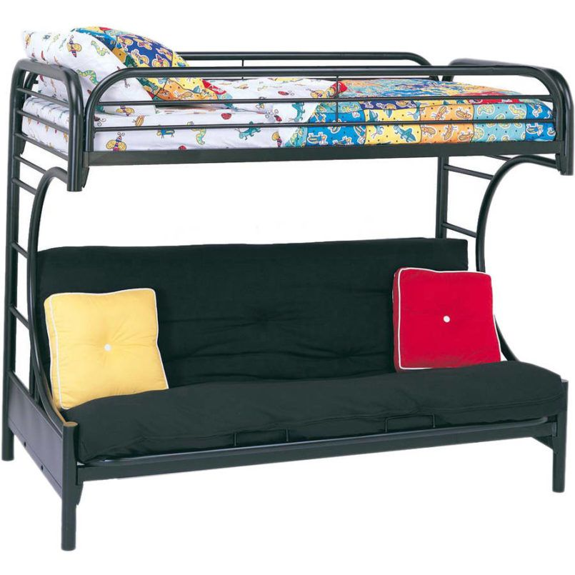 Bedroom How To Assemble A Futon Bunk Bed Metal With Futon Bunk Bed Assembly Instructions Also Pink F Futon Bunk