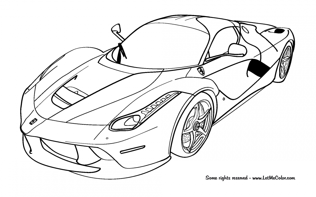 Ferrari Coloring Pages Cars Coloring Pages Sports Coloring Pages Race Car Coloring Pages
