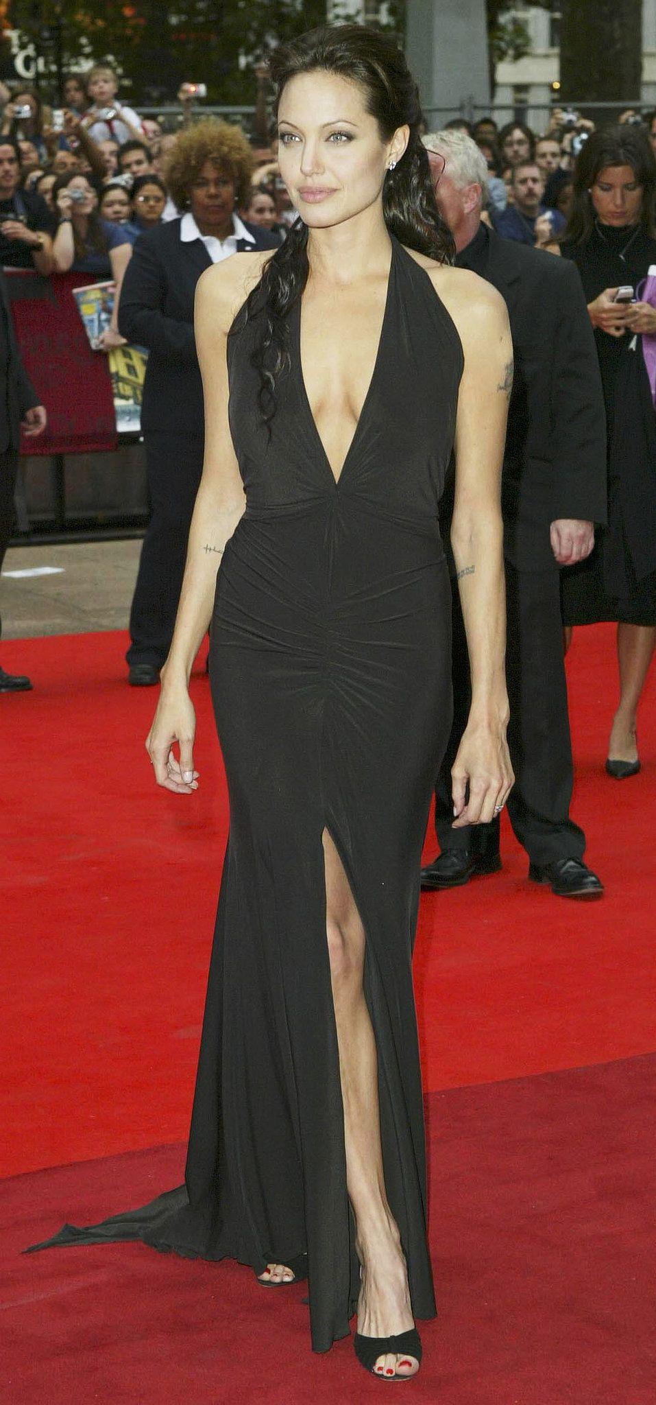 Angelina jolieus red carpet transformation knitwork pinterest