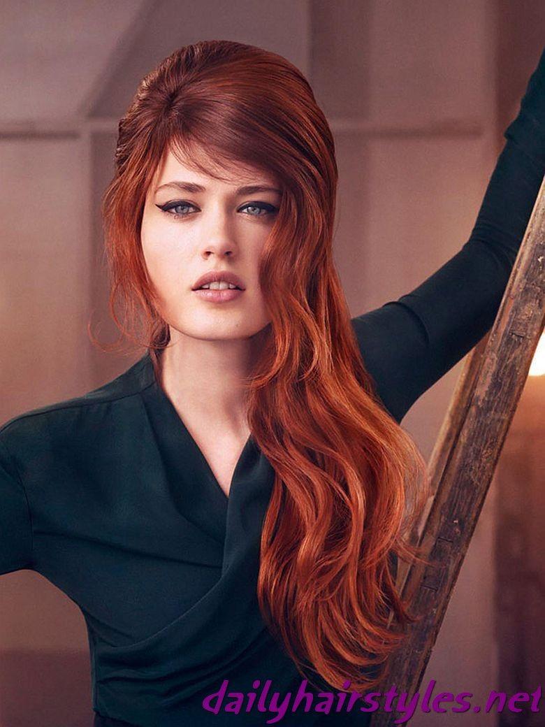 Long hair color styles red google search hair diy pinterest