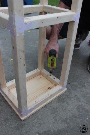 Easiest Bar Stools EVER! { Free DIY Plans | For the Home | Diy stool, Diy bar stools, Diy ...