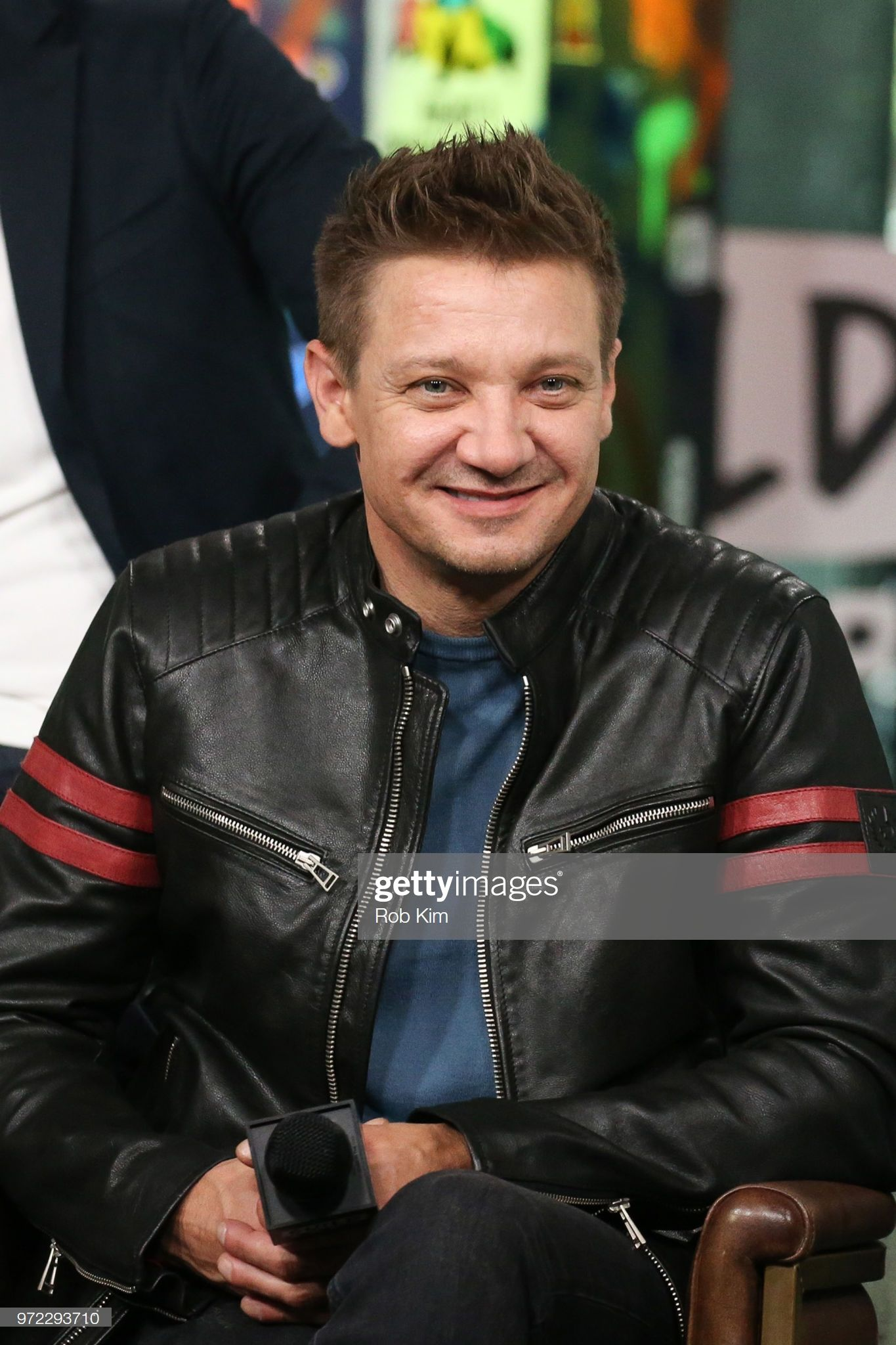 Jeremy Renner attends the Build Series at Build Studio on ...