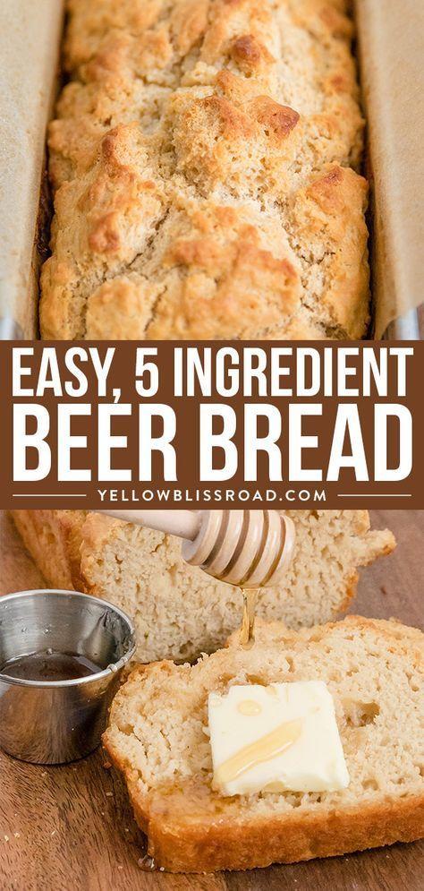 10 Easy Beer Bread Recipes Easy Bread Recipes Beer Bread