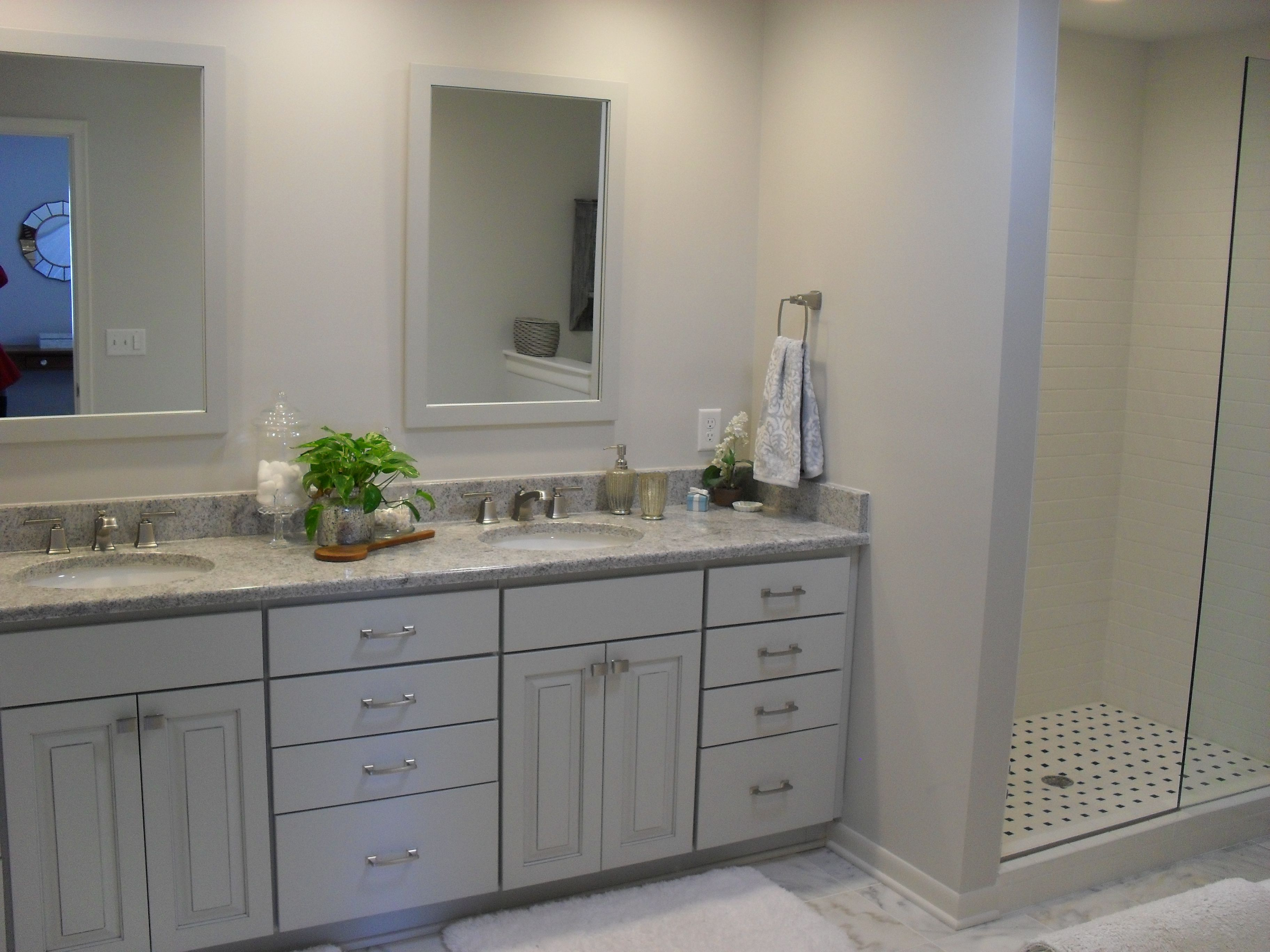This Bathroom Remodel In East Lansing, Michigan, Resulted In A Serene Space  To Start