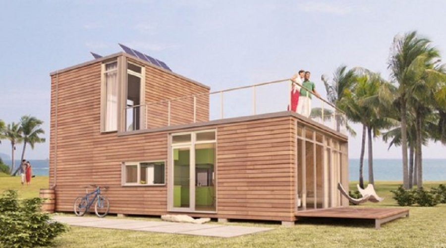 prefab home buyers probably enjoy looking at the architecture of