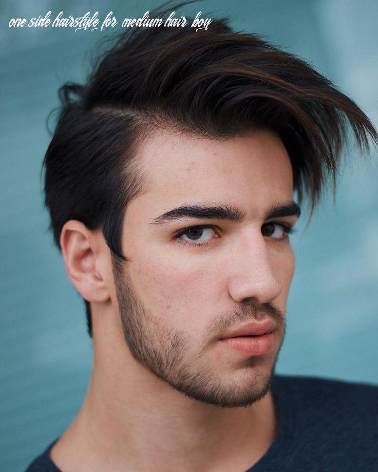 10 One Side Hairstyle For Medium Hair Boy Di 2020 Rambut Pria Rambut Baru Rambut