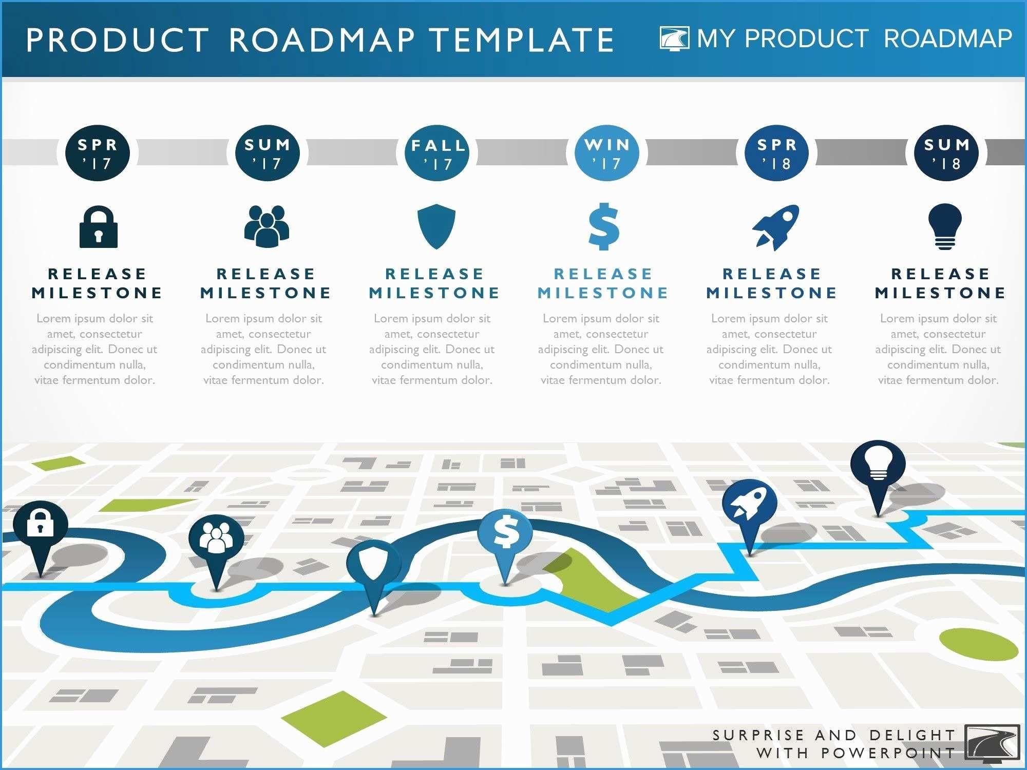 Free Product Development Roadmap Template Good Six Phase