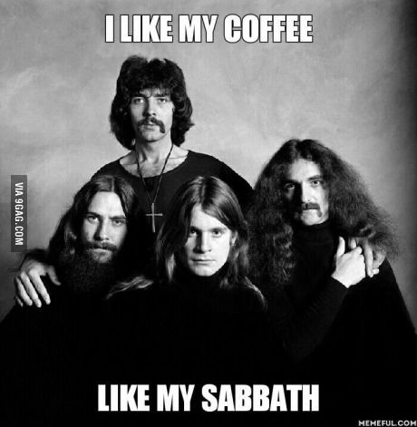 Goodmorning Black Sabbath Ozzy Osbourne Sabbath