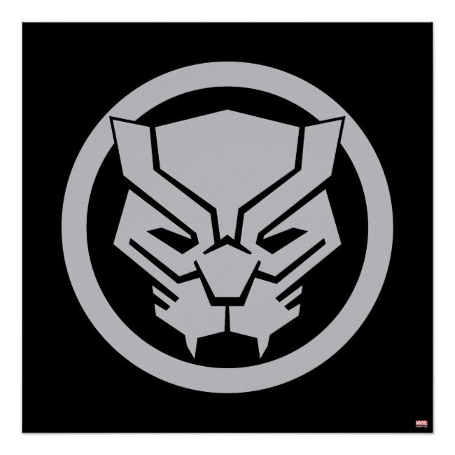 Avengers Classics Black Panther Icon Poster Zazzle Com In 2021 Black Panther Drawing Black Panther Art Black Panther Marvel
