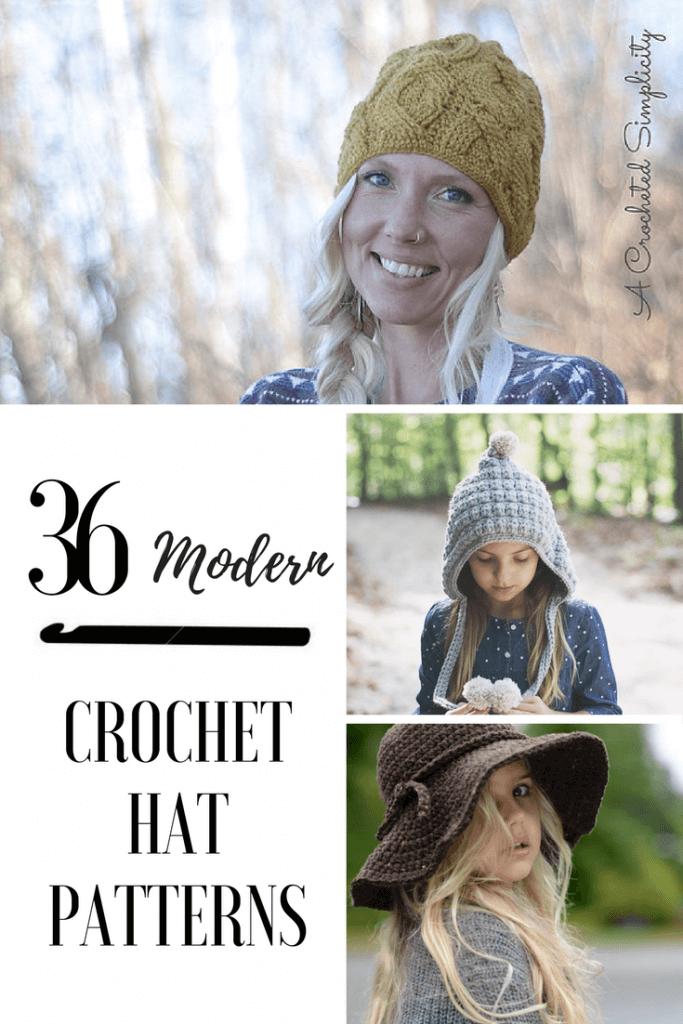 The Ultimate Guide To Modern Crochet Hat Patterns | Patrones de ...