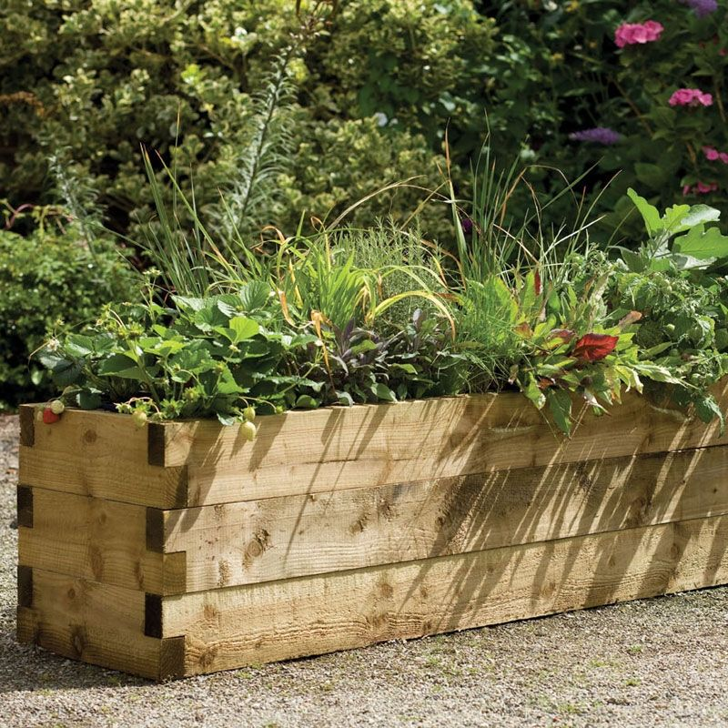 Caledonian Raised Bed | Garden Planters | Buy Sheds Direct
