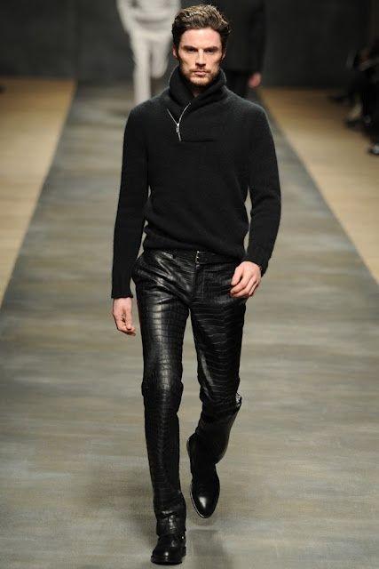 Boots Fashion Homme En Crocodile