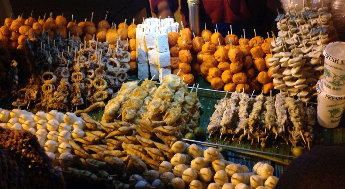 Baguio City, Philippines Street foods | Street food, Food ...