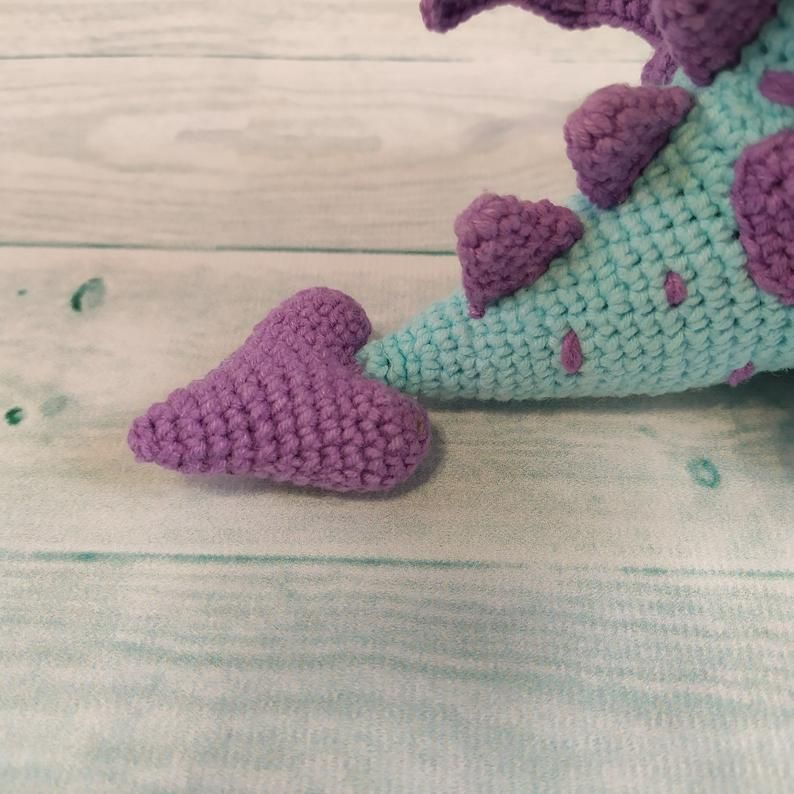 Fairytale Series – Philip the Dragon | Tier häkeln kostenlos ... | 794x794