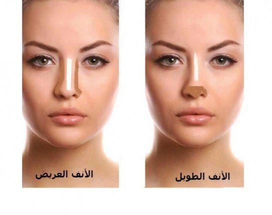 خطوات تطبيق مكياج مثالي لتصغير حجم الأنف Makeup Spray Beauty Makeup Tutorial Makeup Skin Care