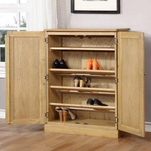WIN001 Shoe Cabinet Open