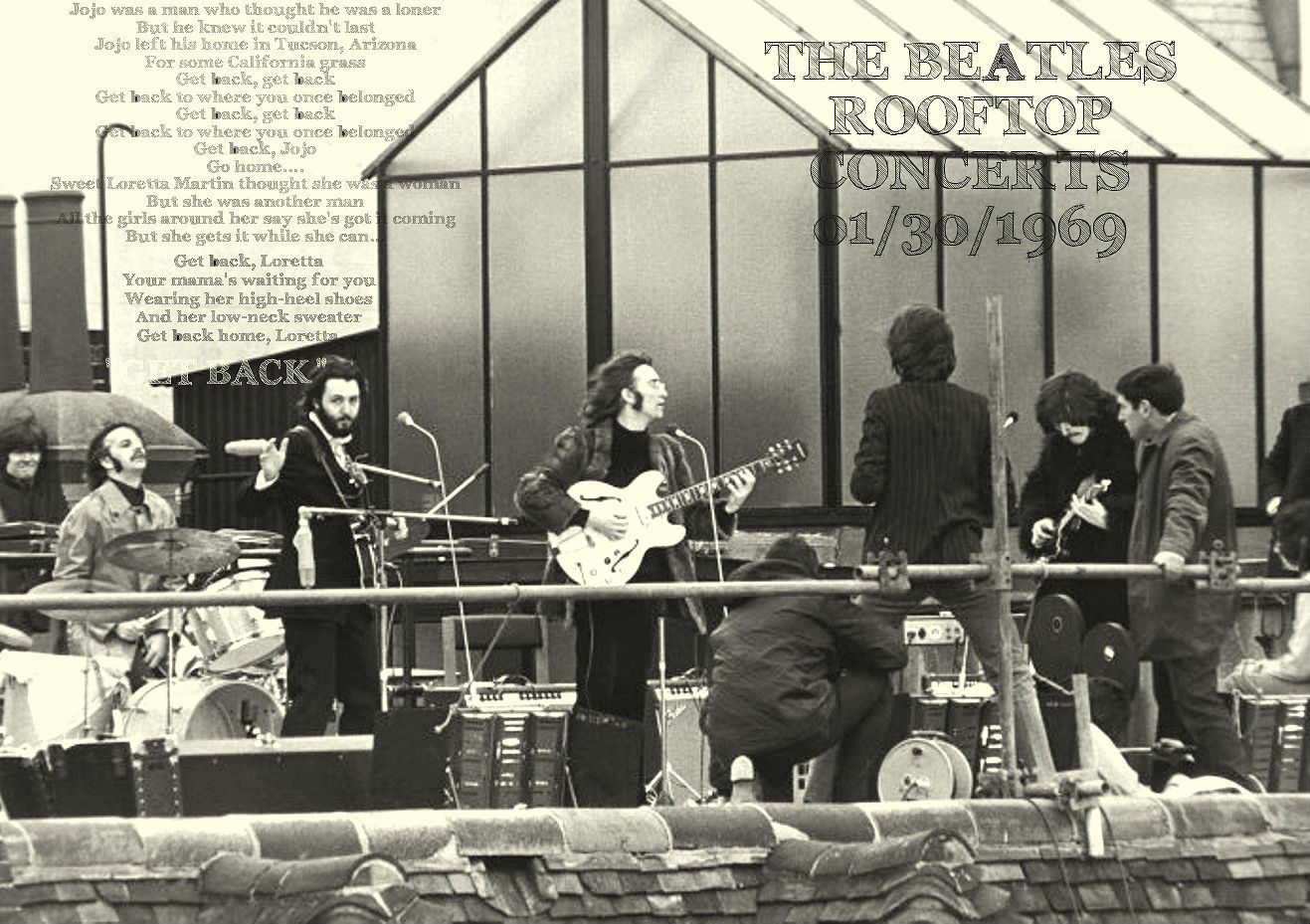 THE BEATLES ROOFTOP CONCERT 01/30/1969 | Beatles, Mitos ...