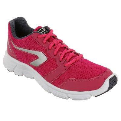 Zenske Tenisice Za Trcanje Za Ugodnost Ekiden One Plus Ruzicaste Decathlon Pink Running Shoes Womens Running Shoes Running Shoes