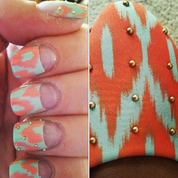Nail art and shoes? YES PLEASE. #nailart