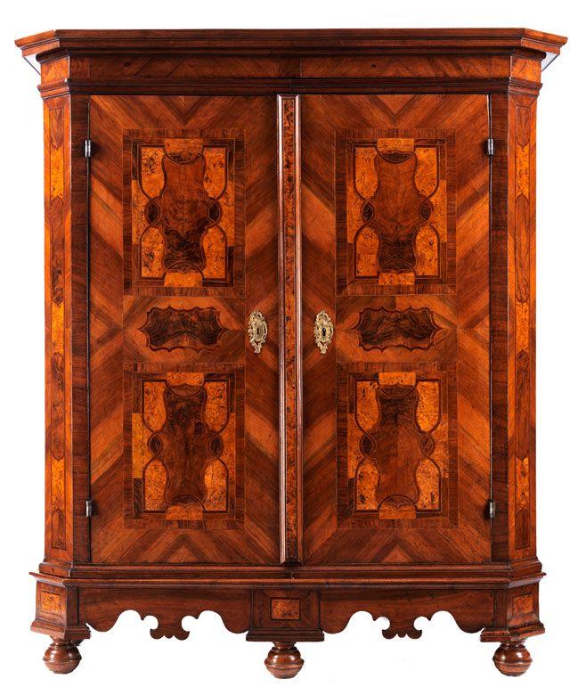 barock schrank s ddeutschland 18 jahrhundert h he 202 cm breite 165 cm tiefe 58 cm. Black Bedroom Furniture Sets. Home Design Ideas