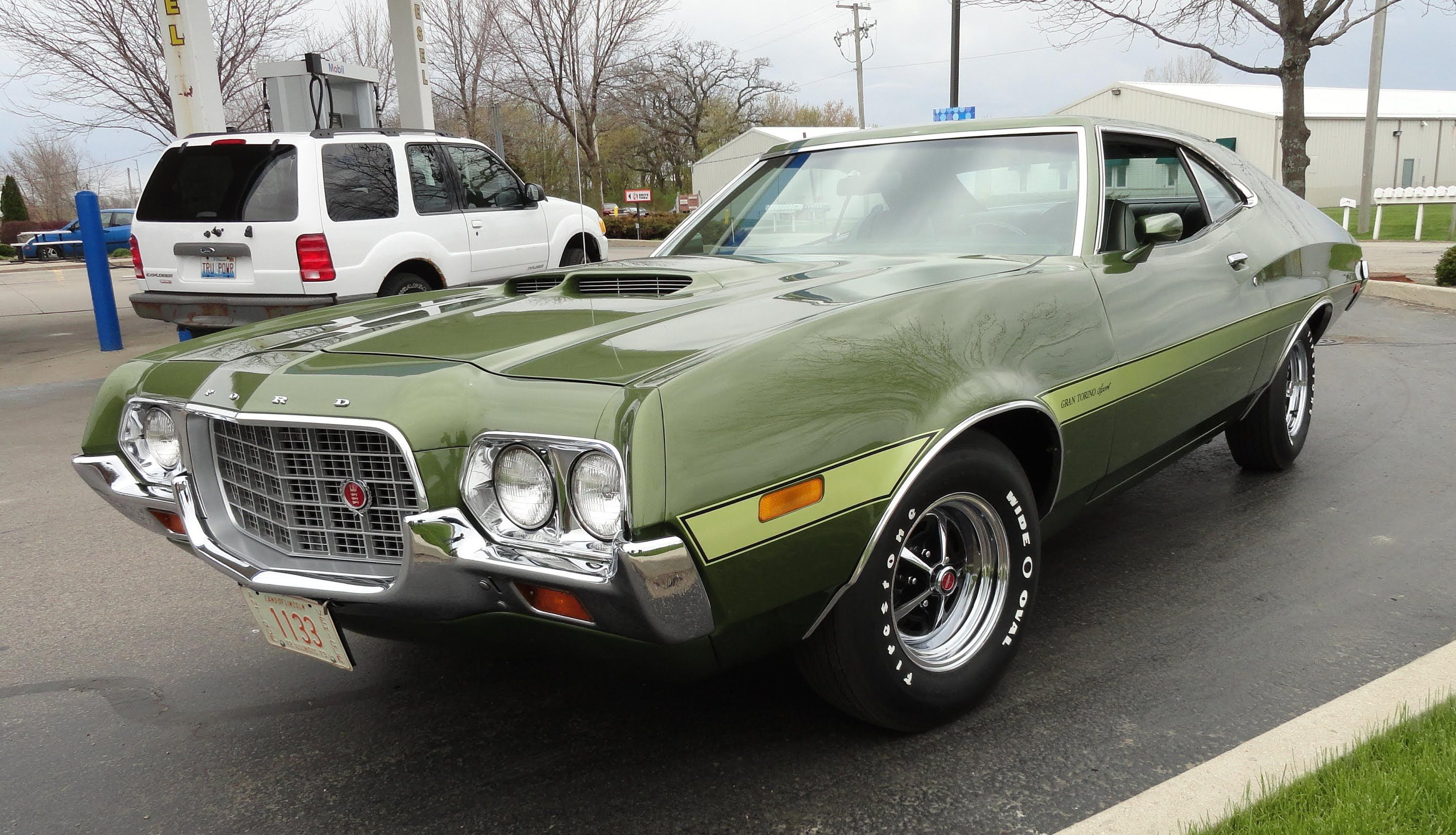 My Car Story With Lou Costabile 1972 Ford Gran Torino Sport 351 Cobra Jet Ford Classic Cars Muscle Cars Classic Cars Muscle