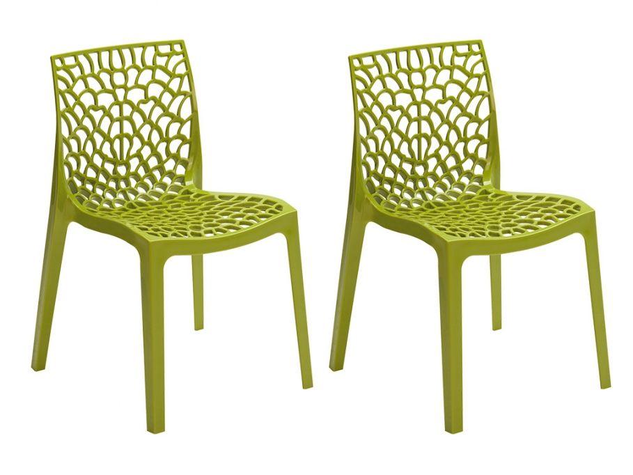 Kauf Unique stuhl 2er set diadem in anisgrün günstig kaufen möbel onlineshop