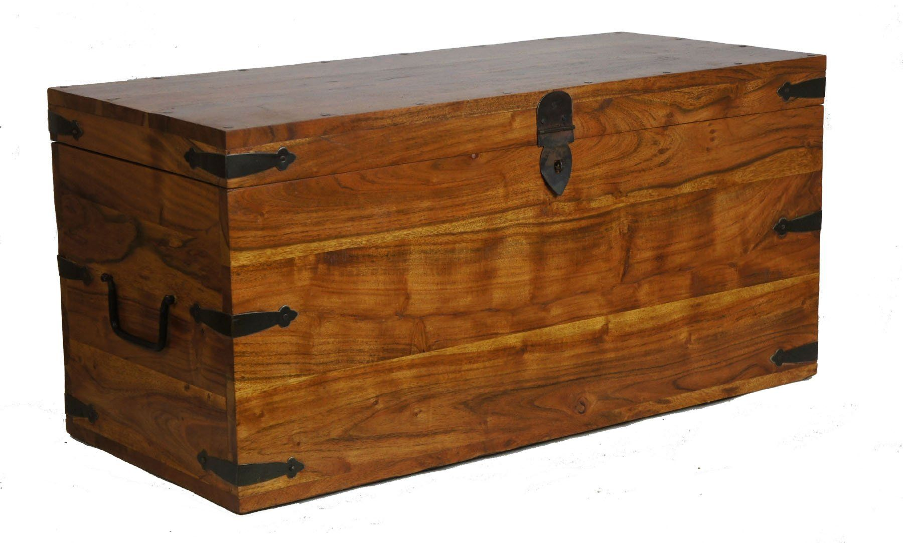 SHEESHAM WOOD CHEST COFFEE TABLE CLASSIC THAKAT TRUNK ROSEWOOD