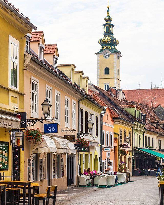 Old Town Zagreb Croatia Zagreb Croatia Croatia Croatia Travel
