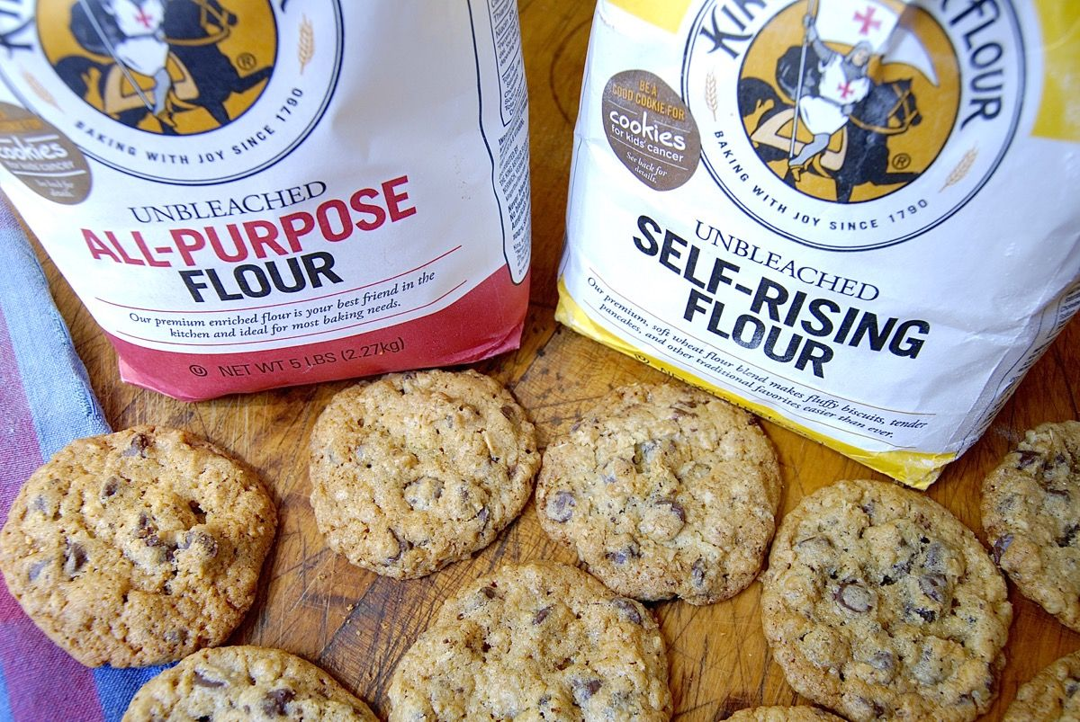 How To Substitute Self Rising Flour For All Purpose Via Kingarthurflour
