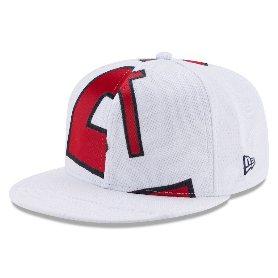 buy popular 080f4 1846b Men s Los Angeles Angels Mike Trout New Era White Player Authentic Jersey  V2 9FIFTY Snapback Adjustable Hat, Your Price   499.99