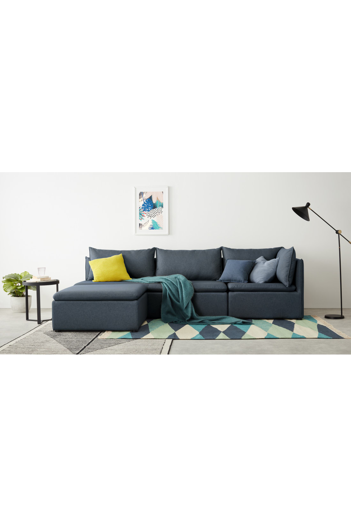 Best Made Lido Blue Modular Sofa Modular Sofa Modular Corner 400 x 300