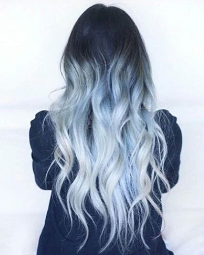 Hair Blue And Hairstyle Image