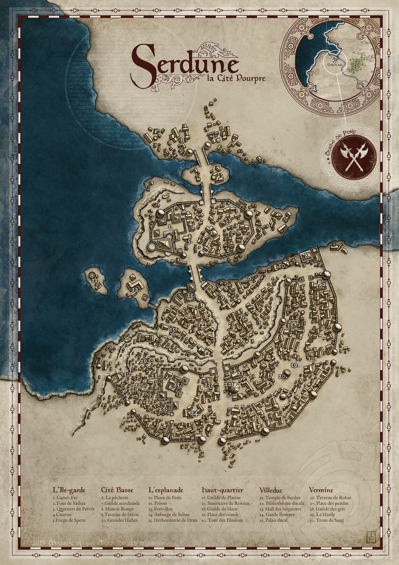 City of Serdune - private commission © 2012 - All rights ...