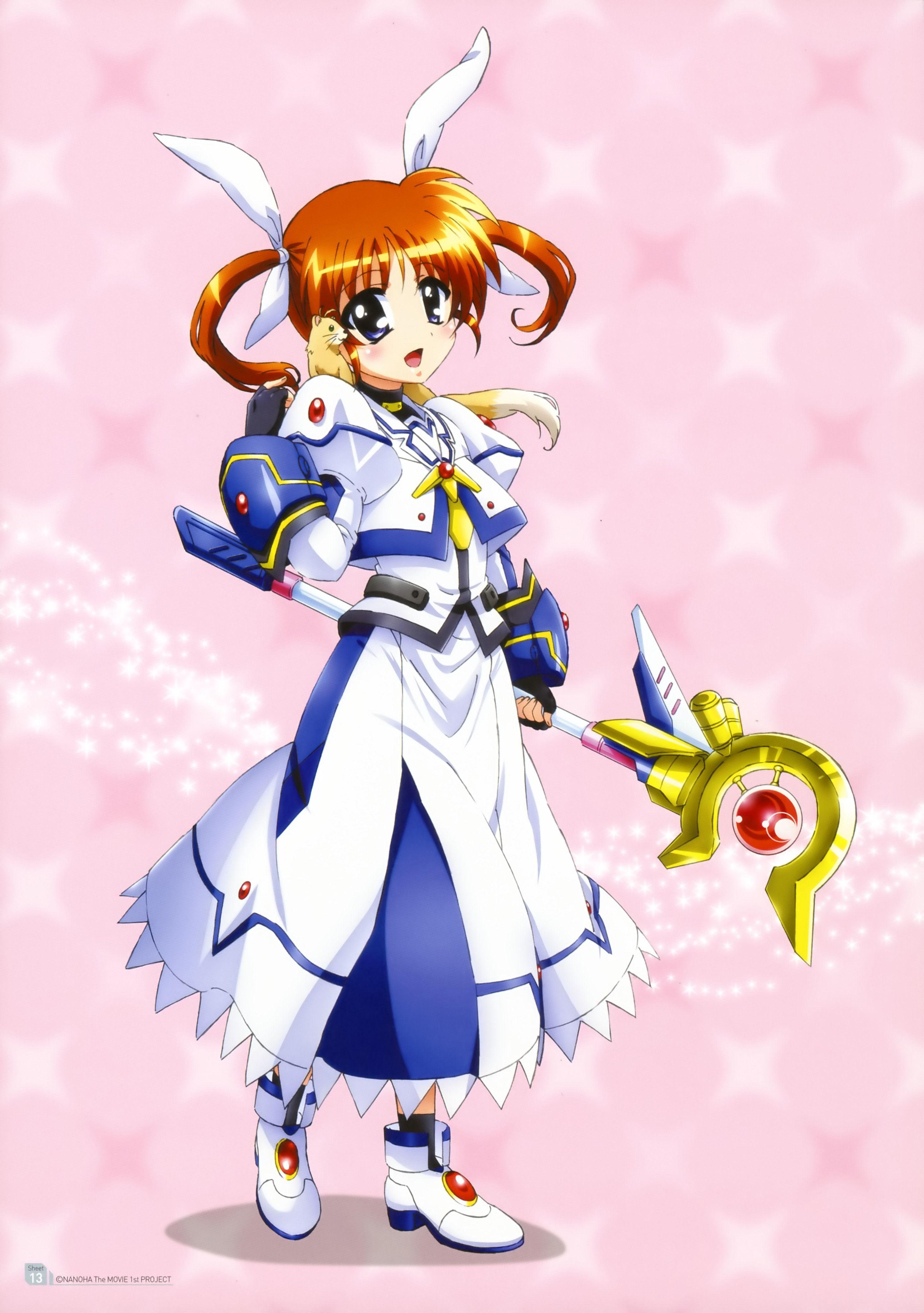 nanoha takamachi Google Search 魔法少女, 魔法少女リリカルなのは, リリカル