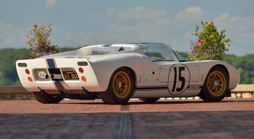 Ford Built Five Gt40 Roadsters But Only One Raced In The 24 Hours