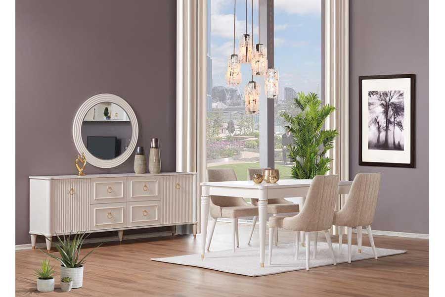 tezel miranda salon masa sandalye takimi mobilya masa evler