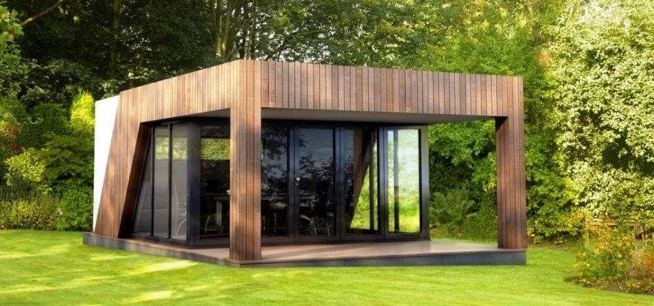 Swift provide luxury garden rooms offices and studios in for Luxury garden sheds