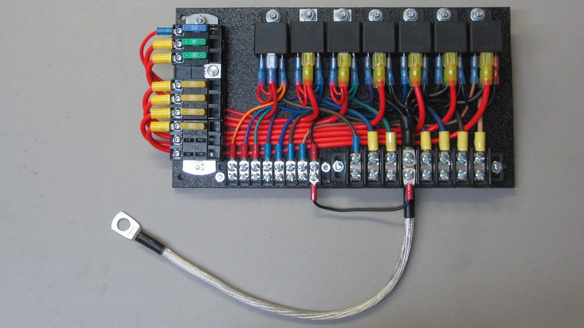 hight resolution of custom relay panels ce auto electric supply